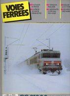 Revue Voies Ferrées N° 045 CC 21000, Autriche, Thailande, X 2200, CC 72000 Etc.... - Railway & Tramway