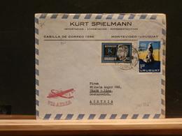 81/566    LETTRE  URUGUAY TO AUSTRIA - Kennedy (John F.)