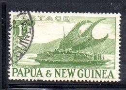 T1577 - PAPUA NUOVA GUINEA 1952 , Yvert N. 10 Usato . - Papua Nuova Guinea