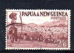 T1594 - PAPUA NUOVA GUINEA 1952 , Yvert N. 13 Usato . - Papua Nuova Guinea
