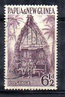 T1556 - PAPUA NUOVA GUINEA 1952 , Yvert N. 7 Usato . - Papua Nuova Guinea