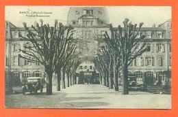 "CPA 54 Nancy "" Hopital Central , Penssion Bonsecours "" Automobiles - Nancy"