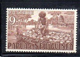 T1556 - PAPUA NUOVA GUINEA 1952 , Yvert N. 9+10 ***  Gomma Bicolore - Papua Nuova Guinea
