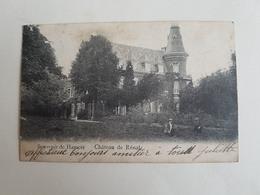 """CP """"Souvenir De Hamoir - Château De Rénal"""" - 1907 (Belgique) - Hamoir"""