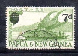 T1464 - PAPUA NUOVA GUINEA 1957 , Yvert N. 17 Usato . - Papua Nuova Guinea