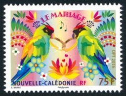 NOUV.-CALEDONIE 2016 - Yv. 1271 ** SUP - Mariage. Perruche Des Alliances  ..Réf.NCE24212 - Nueva Caledonia