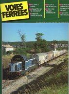 Revue Voies Ferrées N° 042 Crampton 80, Ardèche-Vogué, Grèce, 231 G 558 Etc.... - Railway & Tramway