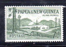 T1432 - PAPUA NUOVA GUINEA 1958 , Yvert N. 25 ***  MNH - Papua Nuova Guinea