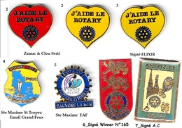 1 Pin's Au Choix_ROTARY Club_Divers - Associations