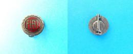 FIAT - Nice Rare Old Enamel Pin Badge * Car Automobile Auto Automobil Auto Anstecknadel Abzeichen Spilla Distintivo - Fiat