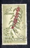 T1357 - PAPUA NUOVA GUINEA 1958 , Yvert N. 37 Usato - Papua Nuova Guinea