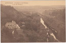 Aywaille - L'Amblève Et Le Chateau (Vu Des Ruines) - (Belgique/België) - Aywaille
