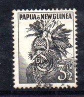 T1338 - PAPUA NUOVA GUINEA 1958 , Yvert N. 20 Usato - Papua Nuova Guinea
