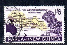 T1356 - PAPUA NUOVA GUINEA 1962 , Yvert N. 48 Usato - Papua Nuova Guinea