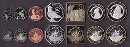 Bir Tawil 7 Coins Set 2014 - Autres – Afrique