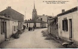 44 LES MOUTIERS-en-RETZ  Rue De Prigny , Vers L'Eglise - Les Moutiers-en-Retz