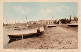44 BASSE-INDRE Canal Des Forges  Le Quai Langlois - Basse-Indre