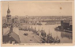 Ostende - Les Bassins Et La Gare Maritime - Ostend - The Docks - (Belgique/België) - 1946 - Oostende