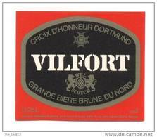 étiquettes De Bière      Vilfort   0.25 L - Bière