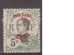 MONGTZEU      N°  YVERT  :     37      NEUF AVEC  CHARNIERES      ( Ch 2041    ) - Mong-tzeu (1906-1922)