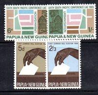 R77 - PAPUA NUOVA GUINEA , Due Serie Con Gomma Integra *** - Papua Nuova Guinea