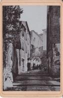 Bordighera Porta Sottana Animata Fotografica Su Cartoncino 10,5 X 16,5 - Altre Città