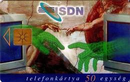 TARJETA TELEFONICA DE HUNGRIA. ISDN'96. HU-P-1996-20B. (193) - Hungría