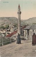 AK Mostar Мостар Moschee Bosnien Herzegowina Bosna Bosnie Bosnia Hercegovina Herzegovine Briefmarke K U K Militärpost - Bosnien-Herzegowina
