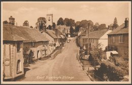 East Budleigh Village, Devon, C.1940 - F Anniss Postcard - England