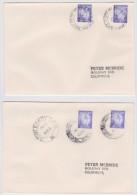 SRI LANKA - CEYLAN - Lot De 2 Enveloppes Kandy Et Galle TPO 2003 - Travelling Post Office - Railway - Poste Ferroviaire - Sri Lanka (Ceylon) (1948-...)