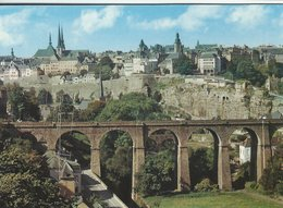 Luxembourg - The Upper Town And The Bastion Of The Bock.    B-3282 - Luxemburg - Town