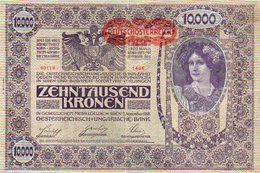 89Db Billet De Banque Zehntausend Kronen Oesterreichisch Ungarische Bank November 1918 - Austria