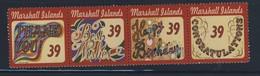 MARSHALL  2007 EVENEMENTS  YVERT  N°2019/22 NEUF MNH** - Marshall