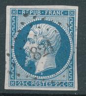 N°10  NUANCE ET OBLITERATION P.C.821 INDICE 12. - 1852 Louis-Napoléon