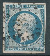N°10  NUANCE ET OBLITERATION - 1852 Louis-Napoléon