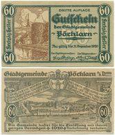 Pöchlarn Bei Melk, 1 Schein Notgeld 1920, Turm Welserturm, Österreich 60 Heller - Autriche