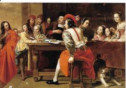 Oeuvre De Joseph Van Oost, La Vocation De St Matthieu, Chien - Peintures & Tableaux
