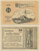 Bubendorf Meilersdorf Wolfsbach, 1 Schein Notgeld 1920, Österreich 20 Heller - Oesterreich