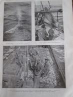 1925  BOULOGNE SUR MER La Peche Au HARENGS Harent  Pecheur  Chalutier - Vieux Papiers