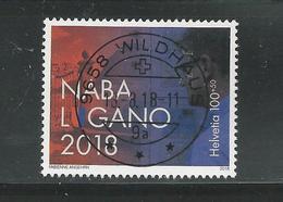 2018 Naba OBLITÉRATION DE LUXE  (181) - Schweiz