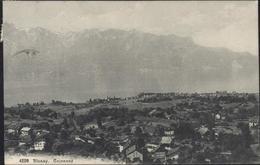 CPA CP Suisse 4220 Blonay Cojonnex Ecrite De L'hôtel Beau Site Baugy Sur Clarens Canton De Vaud 1922 - VD Vaud