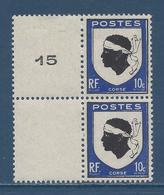 France Variété - YT N° 755 - Neuf Sans Charnière - Écusson Décalé - 1946 - Varietà E Curiosità