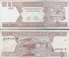 Afghanistan 2002 - 5 Afghani - Pick 66 UNC - Afghanistan
