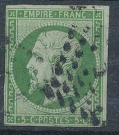 N°12  NUANCE ET OBLITÉRATION - 1853-1860 Napoléon III