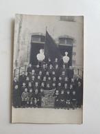 Photo/CP Classe Du Collège Communal De La Ville De Nivelles En 1916 (Belgique) - Etudiants/Enfants/Belges/Ecole/Garçons - Photos