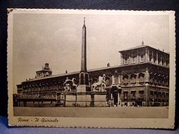 (FG.M08) ROMA - PALAZZO DEL QUIRINALE, OBELISCO, PIAZZA DEL QUIRINALE (NV) - Places & Squares