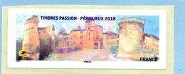 2018 TIMBRES PASSION PERIGUEUX - 2010-... Vignettes Illustrées