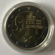 2 Euro. Pièce Commémorative 2011 Franc Roznan. Monnaie Sous Capsule. - Slovénie