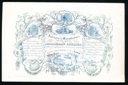 GENT PORSELEINKAART 18 X 12 CM - FABRIQUE & MANUFACTURE EN TOUT GENRE  HOOREMAN CAMBIER - RUE DU VIEUX BOURG 18 GAND - Gent