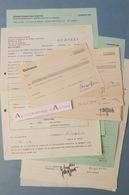 LAUSANNE Lot De Contrats D'artistes Musicaux - Centre Dramatique Romand Théâtre De Vidy - à étudier - Autographes Suisse - Autographes